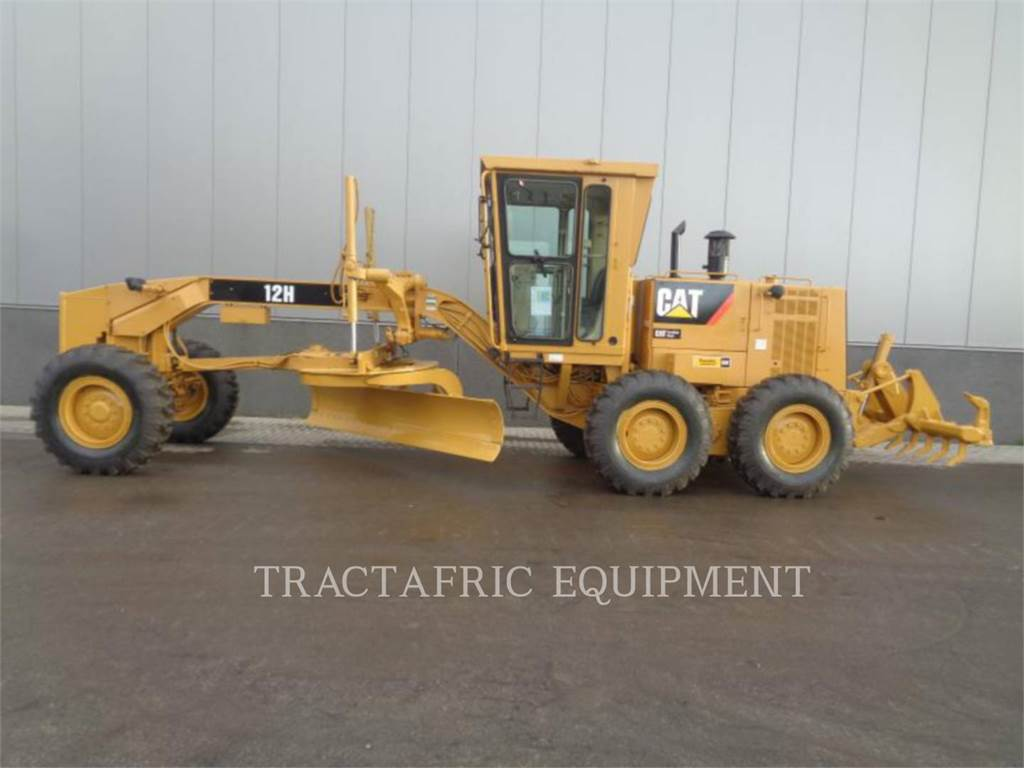 Caterpillar 12 H, motor graders, Construction