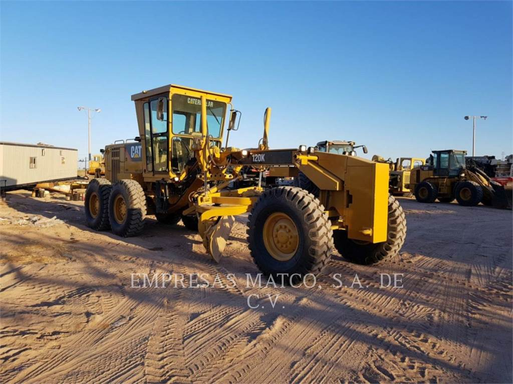 Caterpillar 120 K, motor graders, Construction