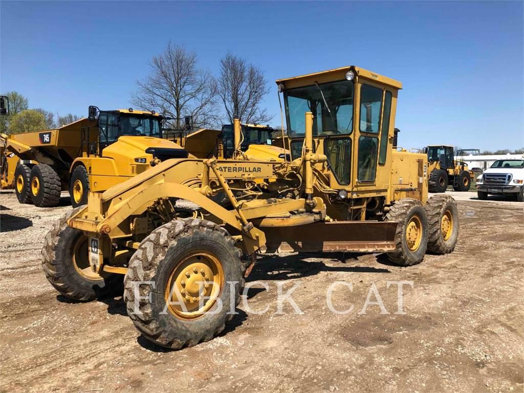 Caterpillar 120G, motor graders, Construction