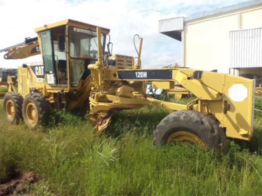 Caterpillar 120H, niveleuses pour mines, Équipement De Construction
