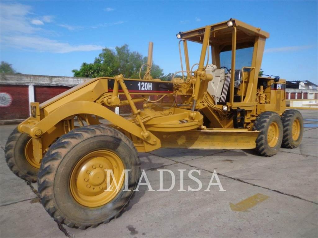 Caterpillar 120H, motor graders, Construction