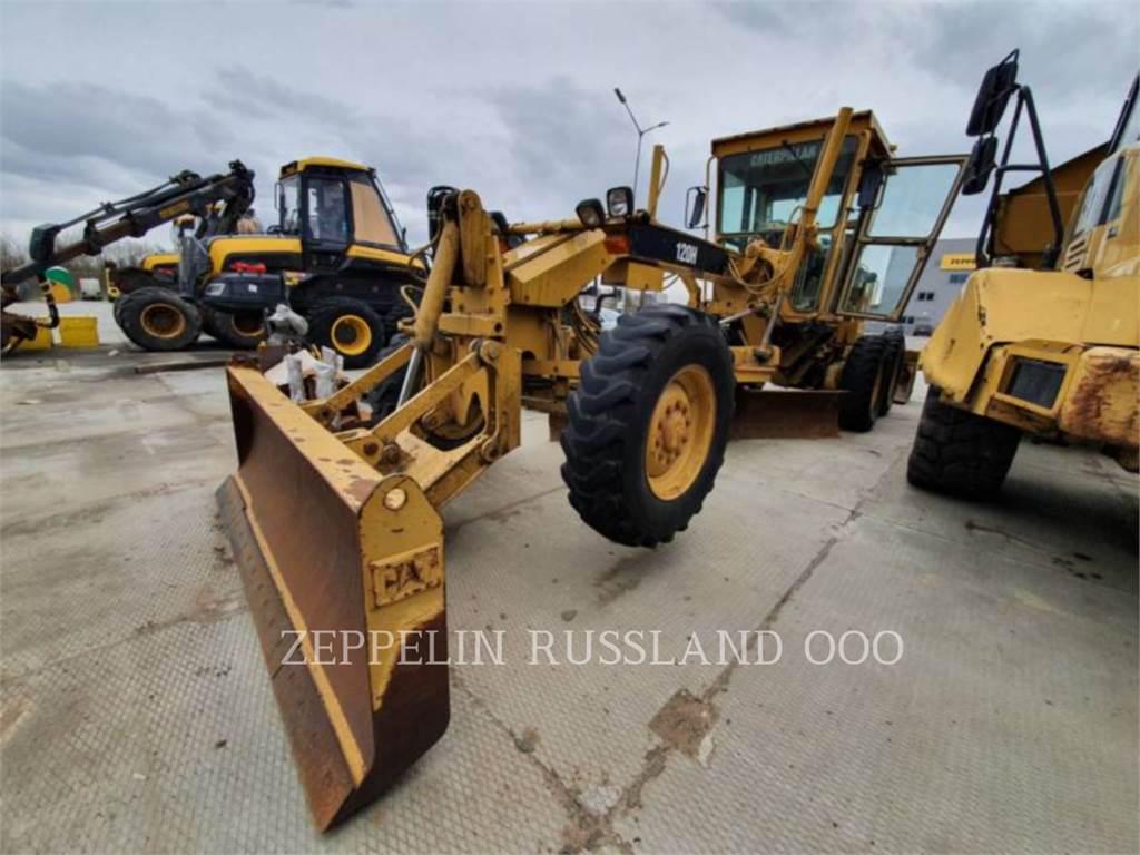 Caterpillar 120H, motoniveladora de mineração, Equipamentos Construção