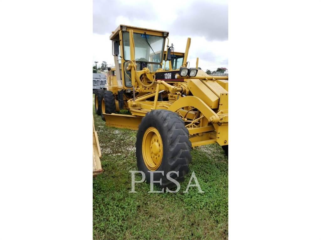 Caterpillar 120H, motorgrader da miniera, Attrezzature Da Costruzione