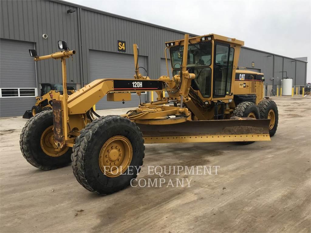Caterpillar 120HNA, motor graders, Construction