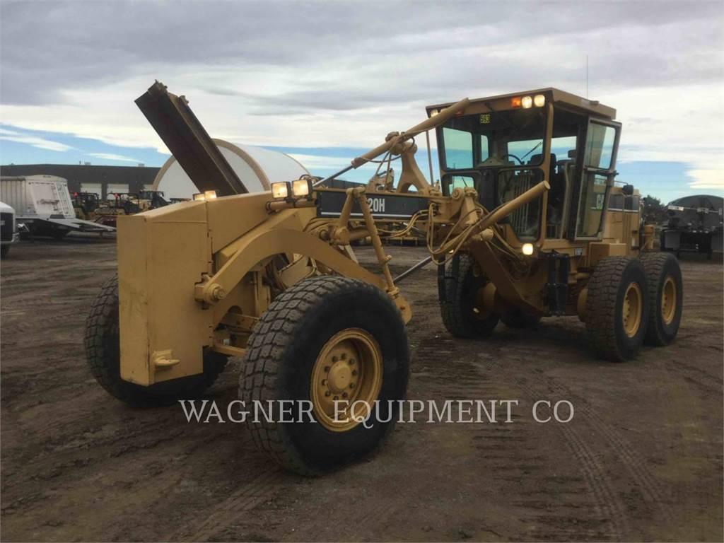 Caterpillar 120HNA, motor graders, Construction