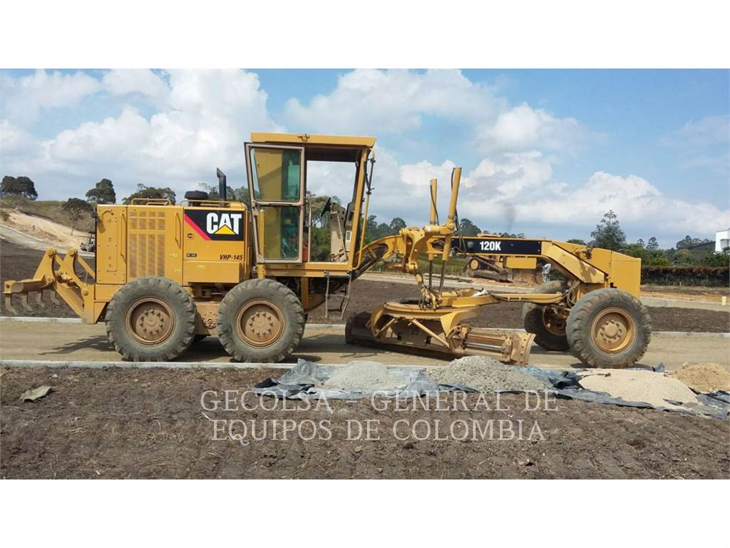 Caterpillar 120K, autogreder minier, Constructii