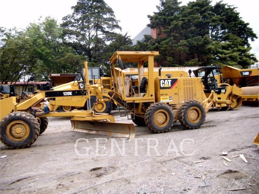 Caterpillar 120K, motoniveladora de mineração, Equipamentos Construção
