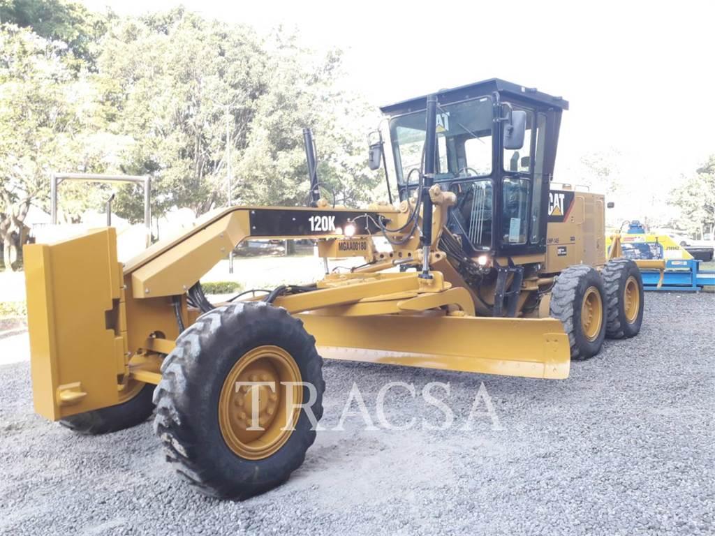 Caterpillar 120K, niveleuses pour mines, Équipement De Construction