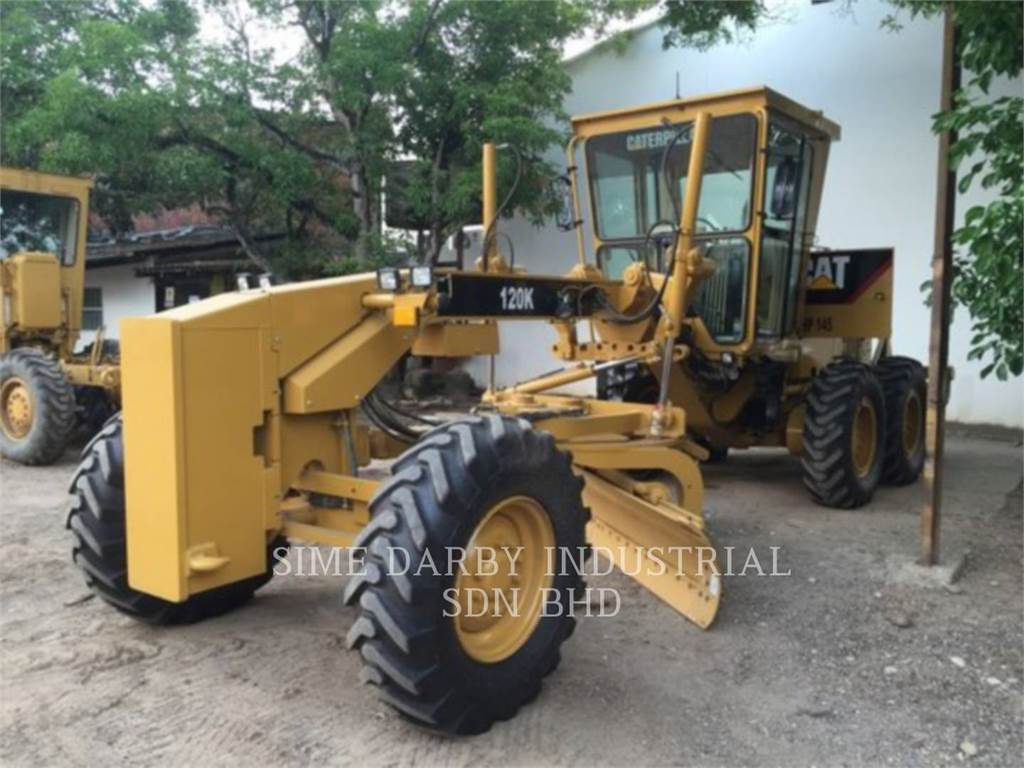 Caterpillar 120K, motor graders, Construction