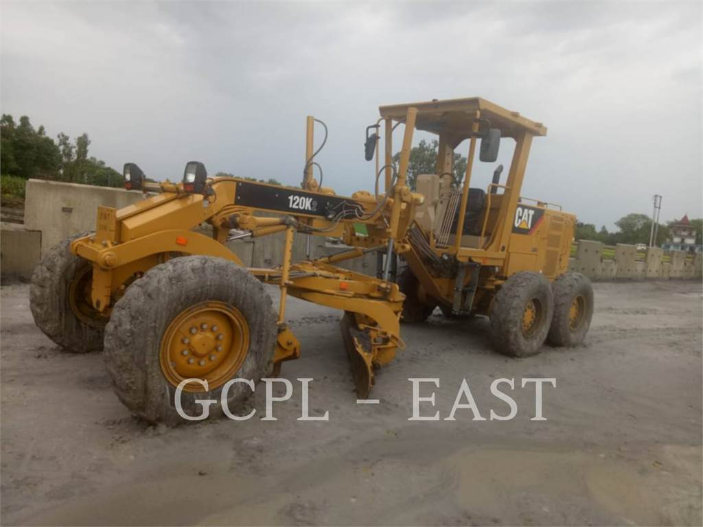 Caterpillar 120K2, motor graders, Construction