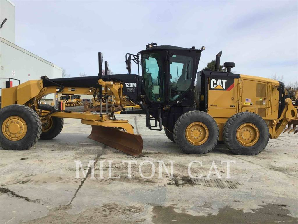 Caterpillar 120M 2 AWD, motor graders, Construction