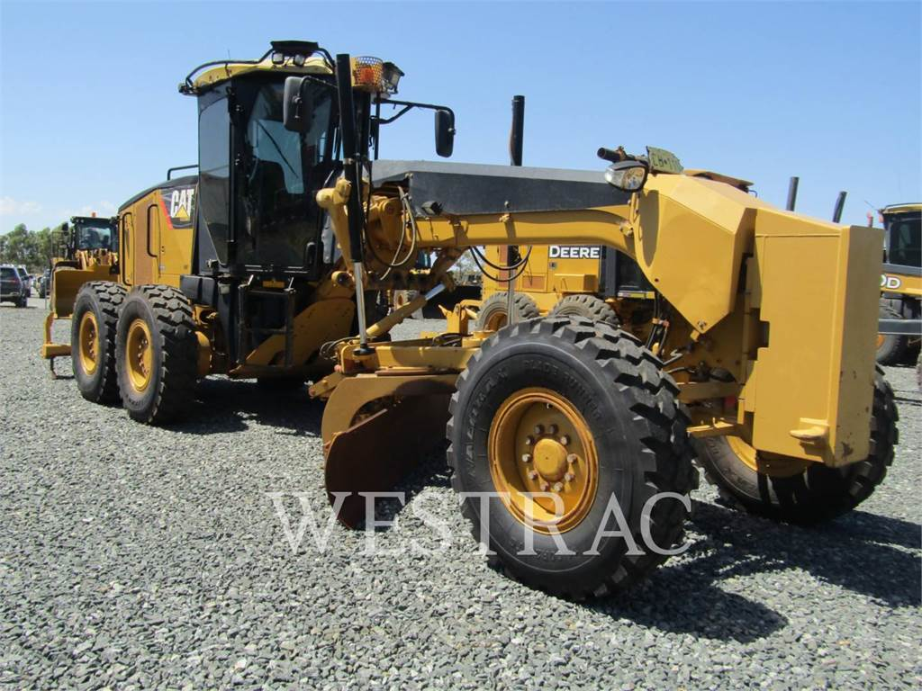 Caterpillar 120M, motor graders, Construction
