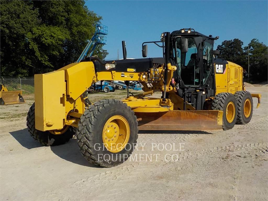 Caterpillar 120M2, niveleuses pour mines, Équipement De Construction