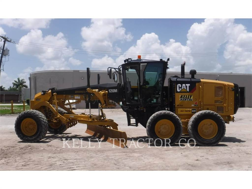 Caterpillar 120M2, motor graders, Construction