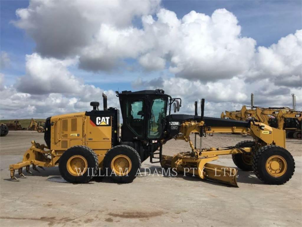 Caterpillar 120M2 AWD、平地机/推土机、建筑设备
