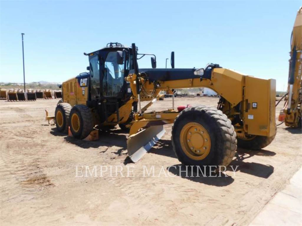 Caterpillar 120M2 AWD, autogreder minier, Constructii