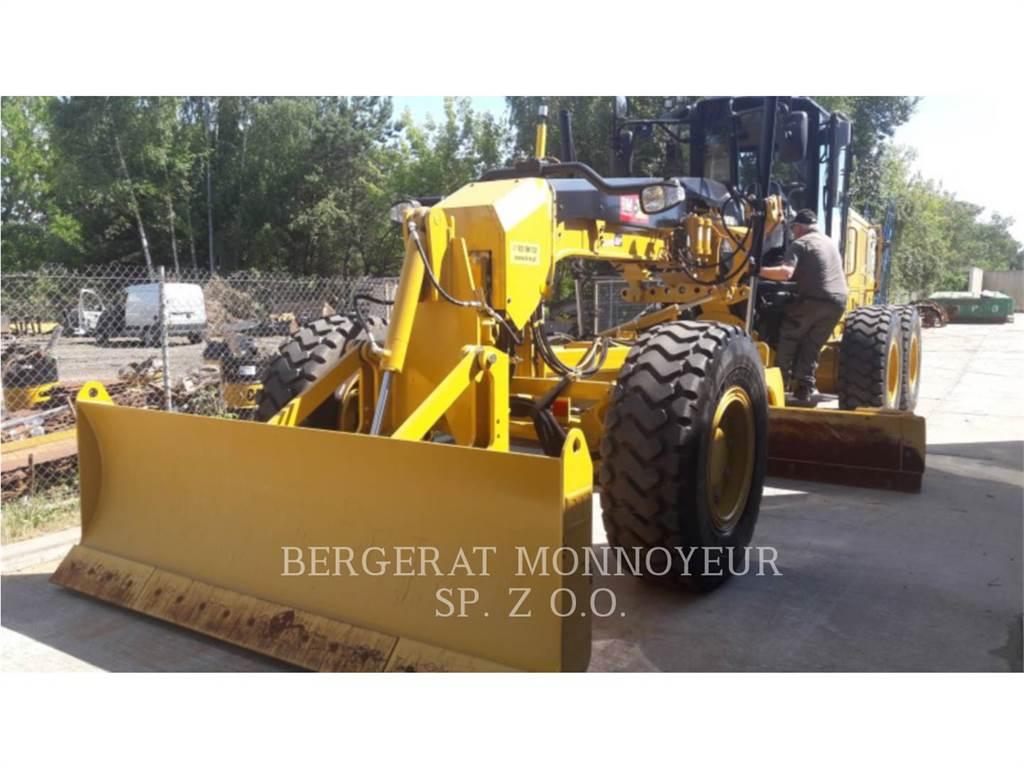 Caterpillar 120M2AWD, autogreder minier, Constructii
