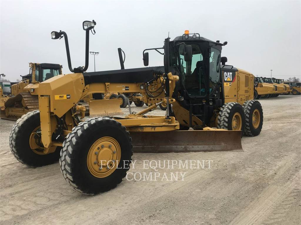 Caterpillar 120M2AWD, motor graders, Construction