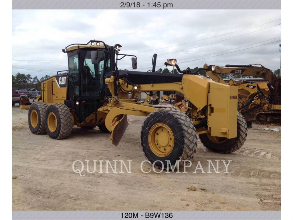 Caterpillar 120MAWD, motor graders, Construction