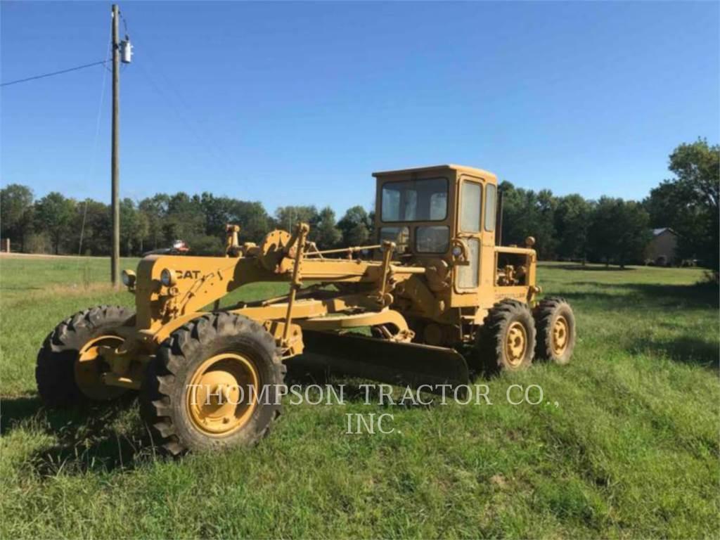 Caterpillar 12E, motorgrader mijnbouw, Bouw