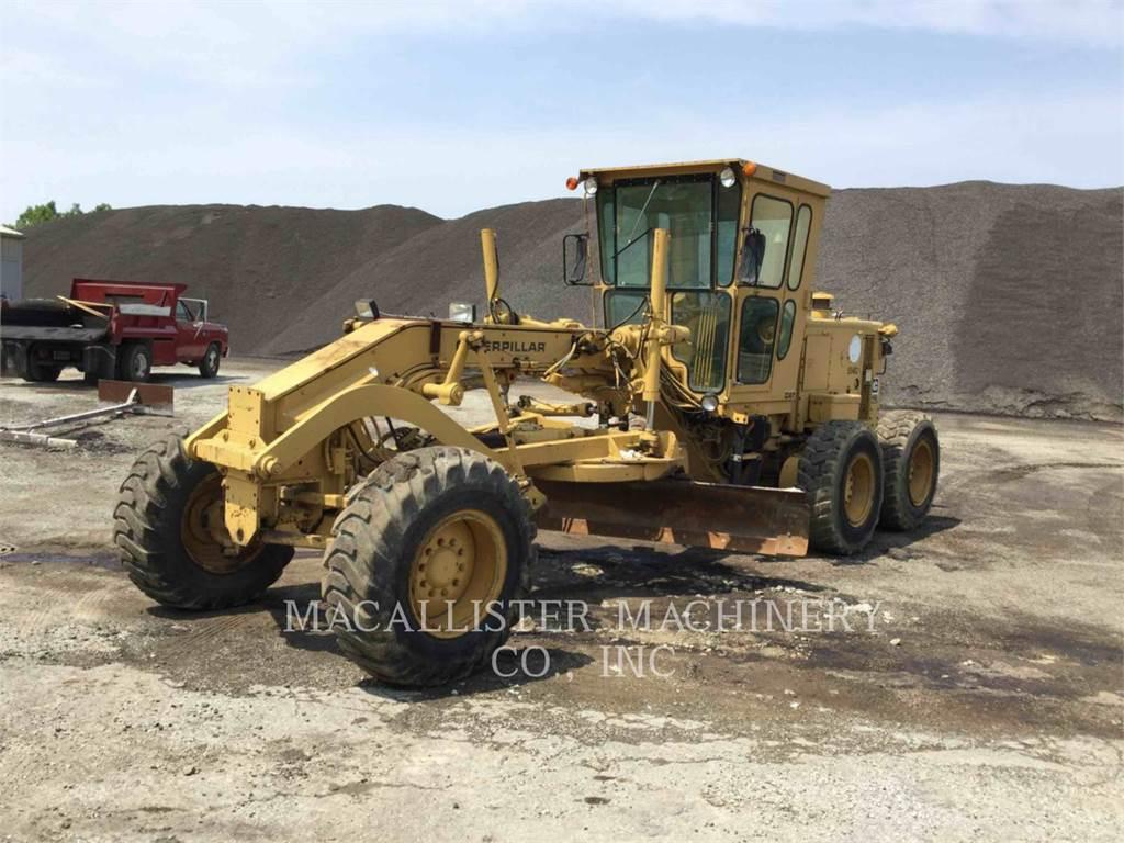 Caterpillar 12G, motorgrader da miniera, Attrezzature Da Costruzione