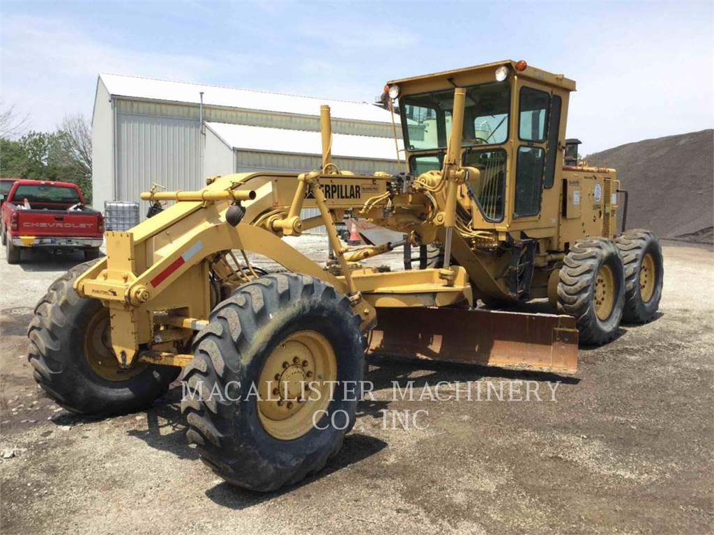 Caterpillar 12G, niveleuses pour mines, Équipement De Construction