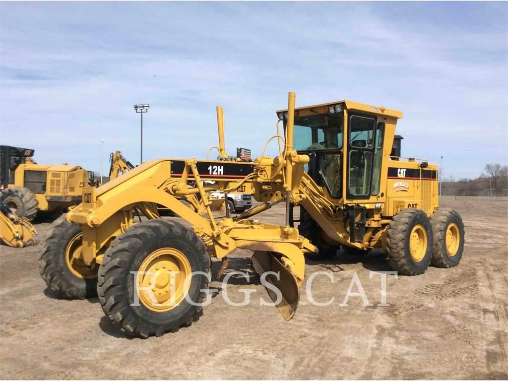 Caterpillar 12H, motor graders, Construction