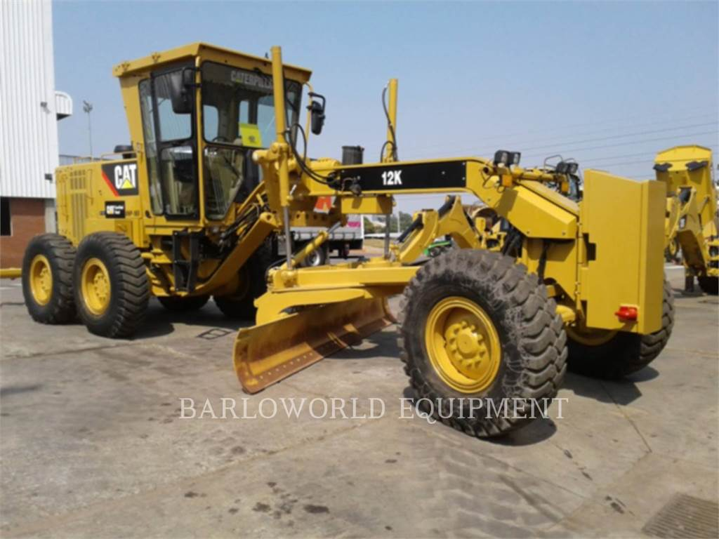 Caterpillar 12K, motor graders, Construction
