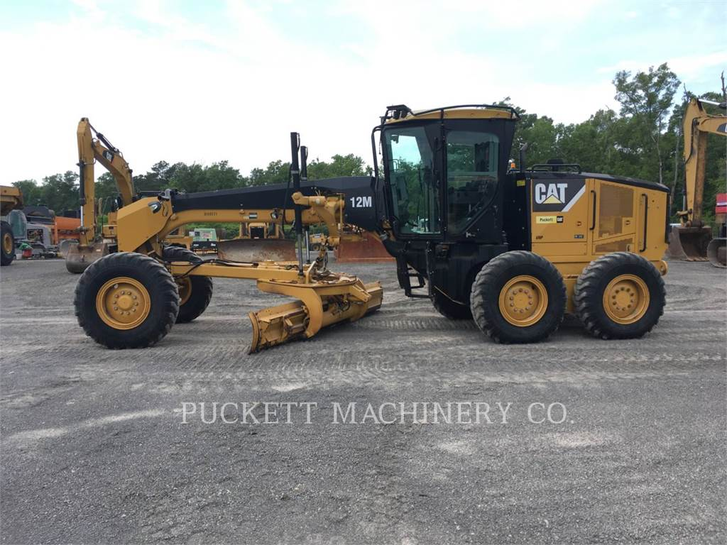 Caterpillar 12M, autogreder minier, Constructii