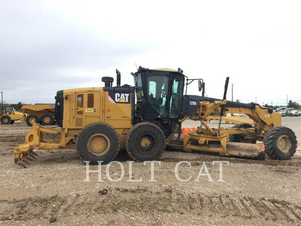 Caterpillar 12M, motoniveladora de mineração, Equipamentos Construção