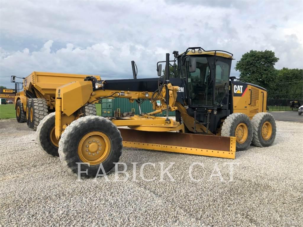 Caterpillar 12M, motor graders, Construction