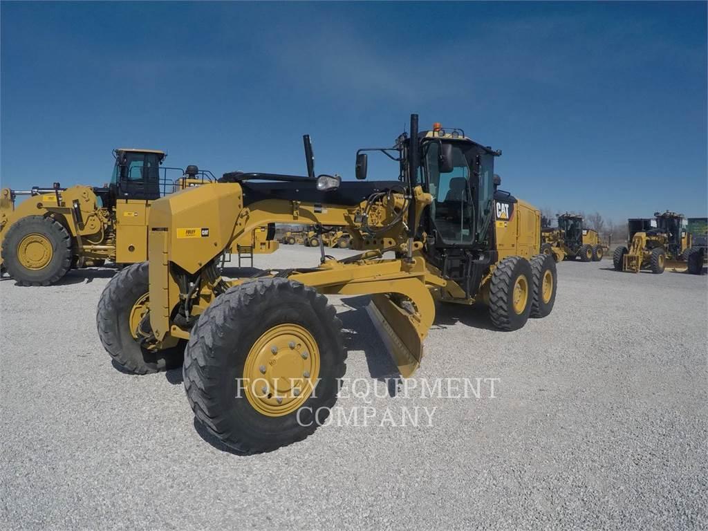 Caterpillar 12M2AWD, kopalniana równiarka samojezdna, Sprzęt budowlany