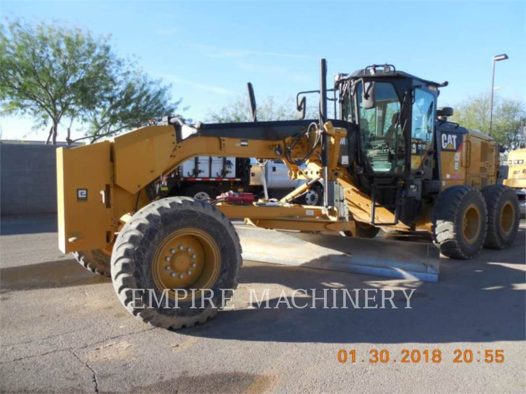 Caterpillar 12M3、鉱業用モータ・グレーダ、建設