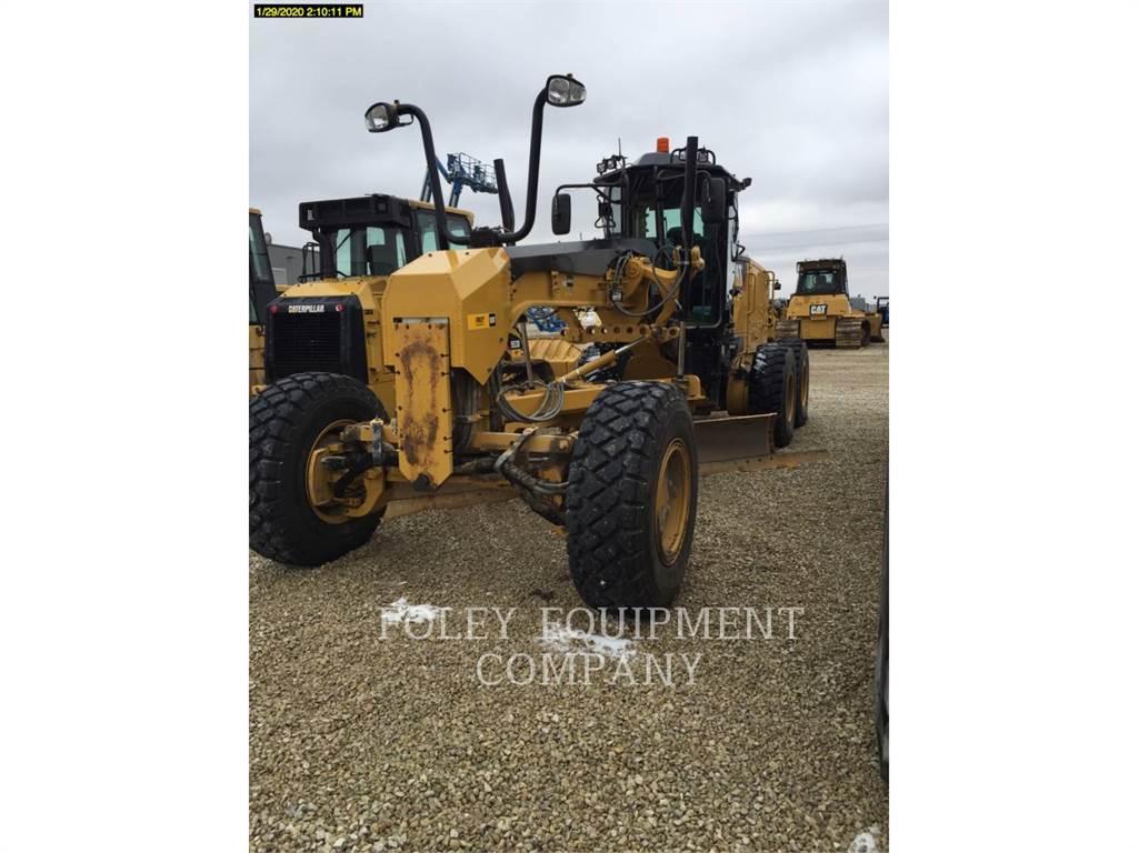 Caterpillar 12M3AW, autogreder minier, Constructii