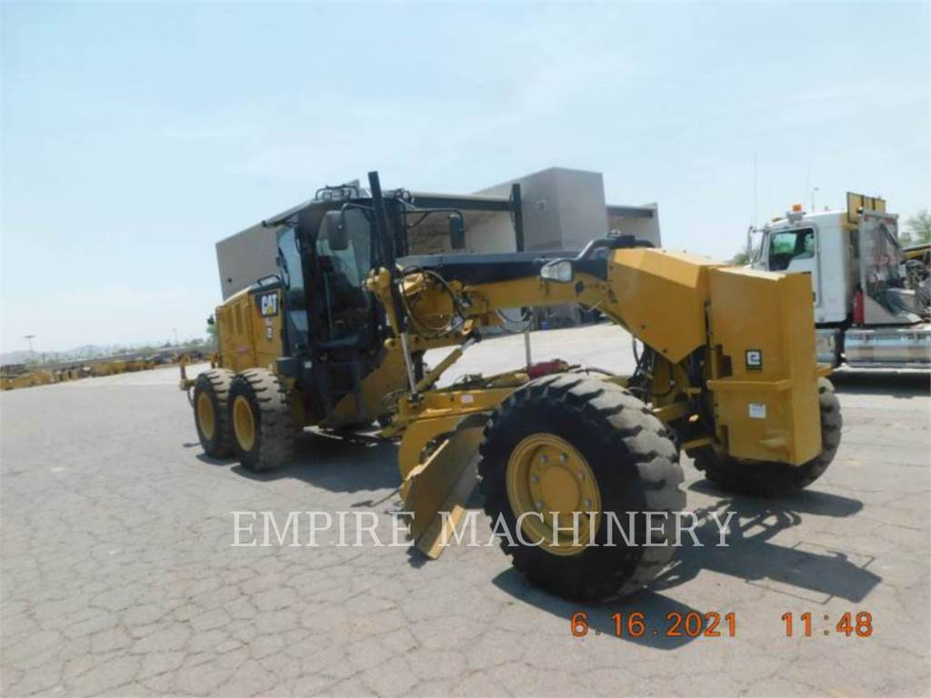 Caterpillar 12M3AWD TR, карьерный автогрейдер, Строительное