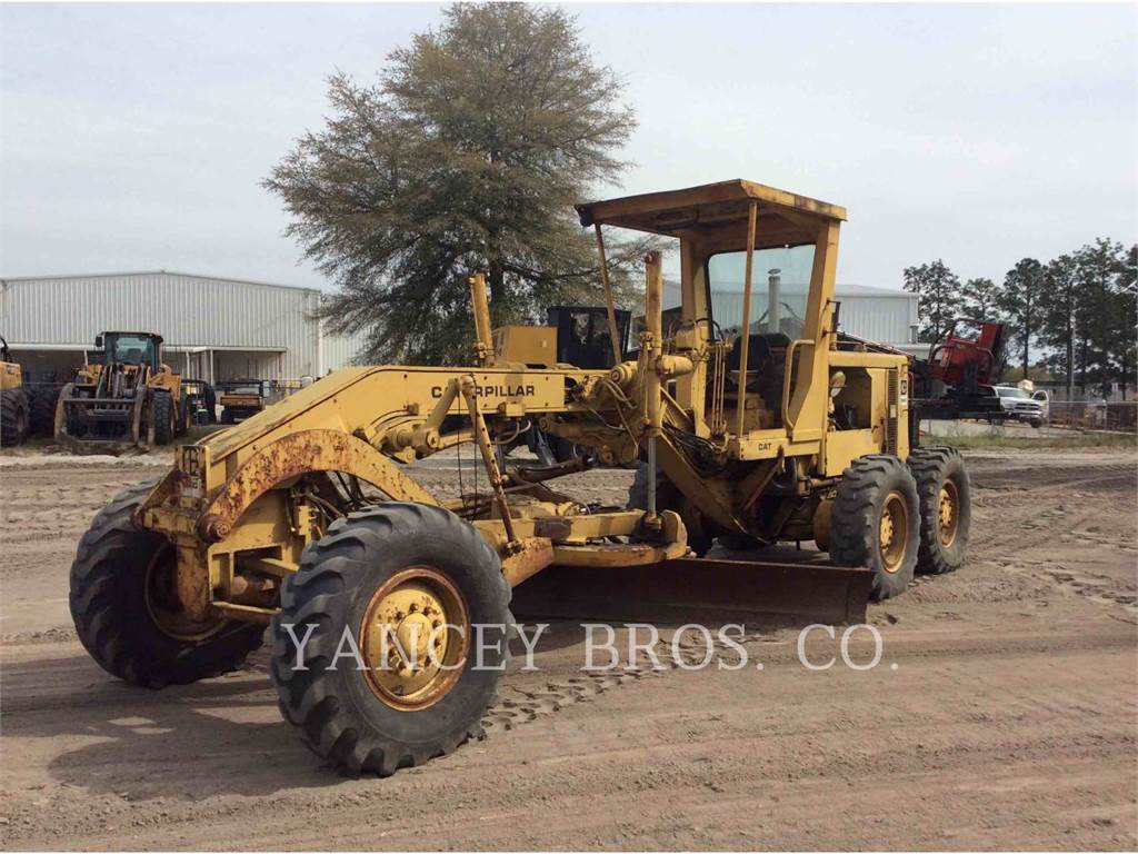 Caterpillar 130G, motor graders, Construction