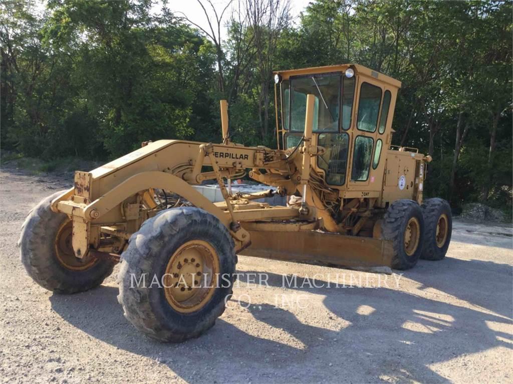 Caterpillar 130G, motorgrader da miniera, Attrezzature Da Costruzione