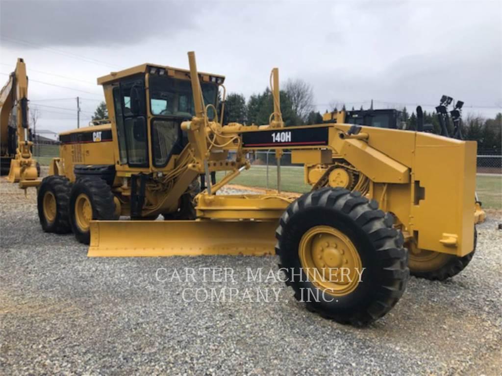 Caterpillar 140 H, niveleuses pour mines, Équipement De Construction
