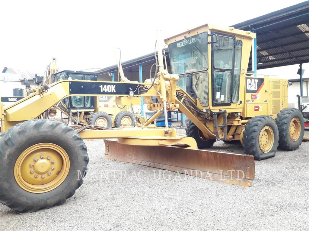 Caterpillar 140 K, motor graders, Construction