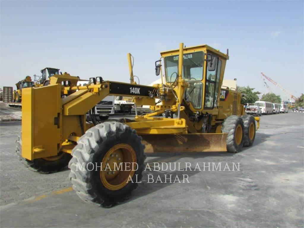 Caterpillar 140 K, motoniveladoras para minería, Construcción