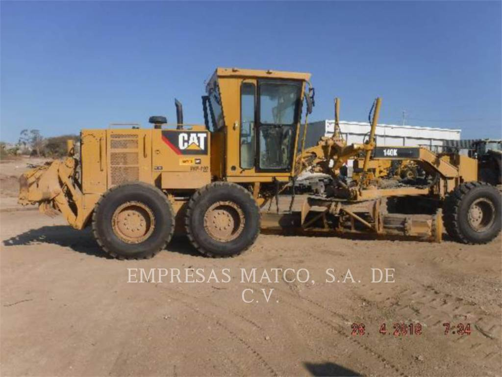 Caterpillar 140 K, motorgrader da miniera, Attrezzature Da Costruzione