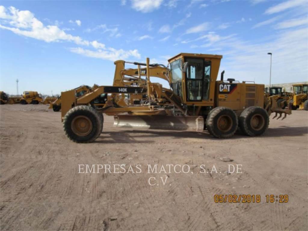 Caterpillar 140 K, motor graders, Construction