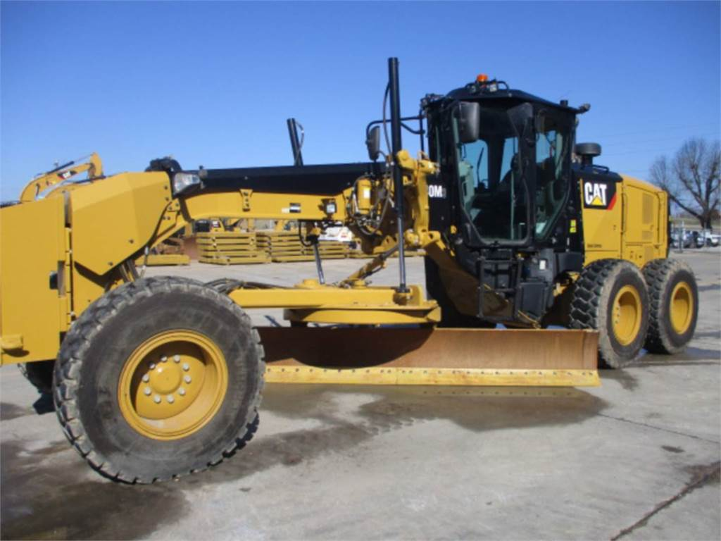 Caterpillar 140 M3, motor graders, Construction