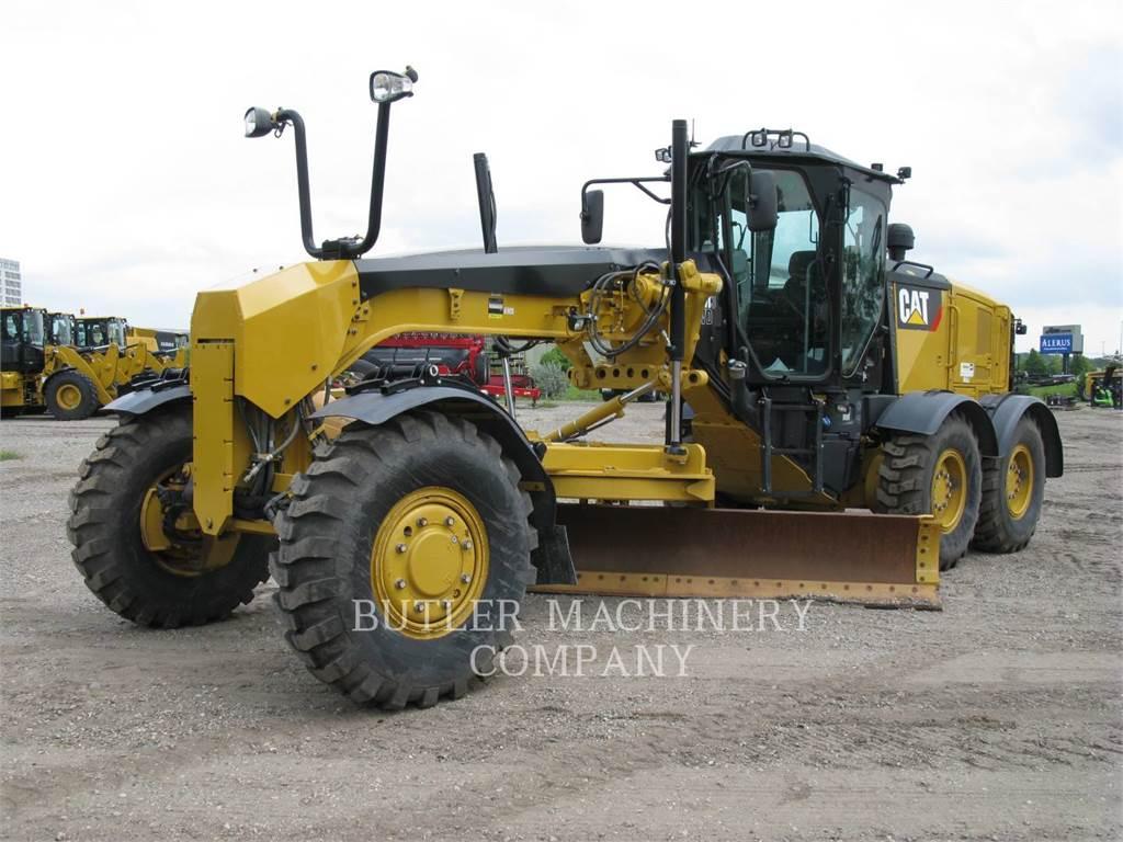 Caterpillar 140 M3 AWD, autogreder minier, Constructii