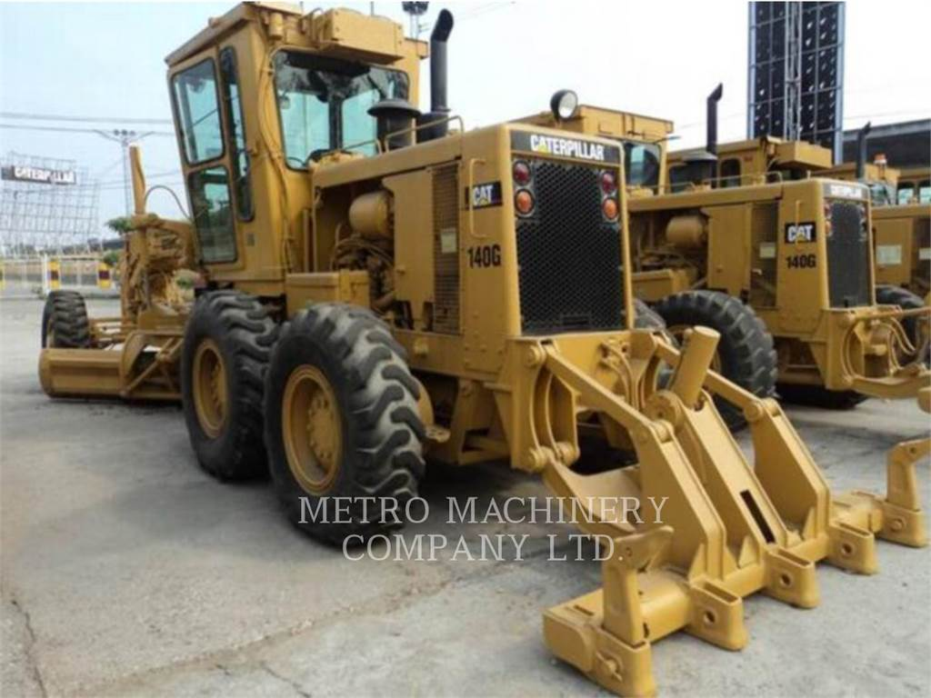 Caterpillar 140G, niveleuses pour mines, Équipement De Construction
