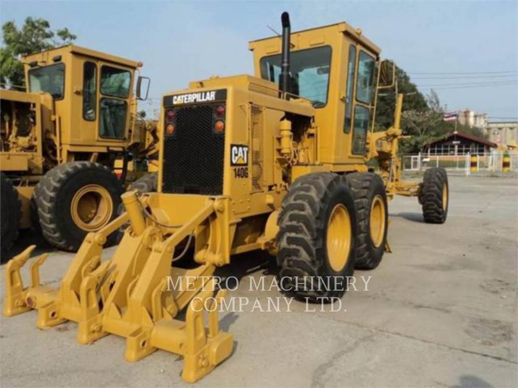 Caterpillar 140G, motoniveladoras para minería, Construcción