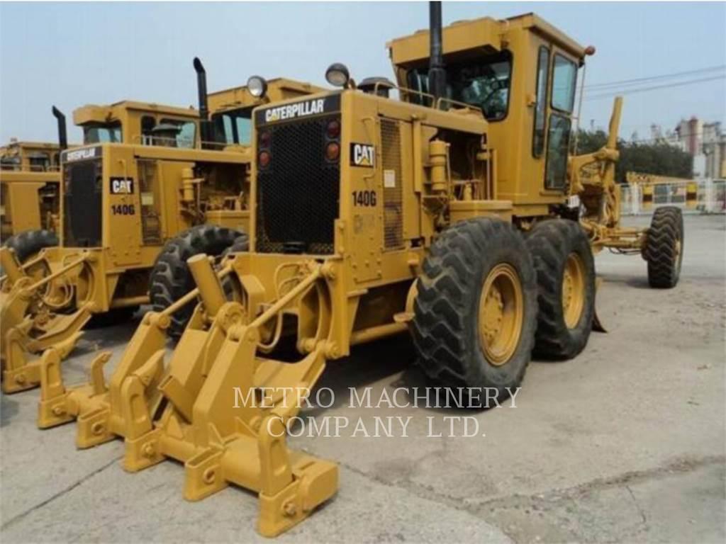 Caterpillar 140G, motor graders, Construction