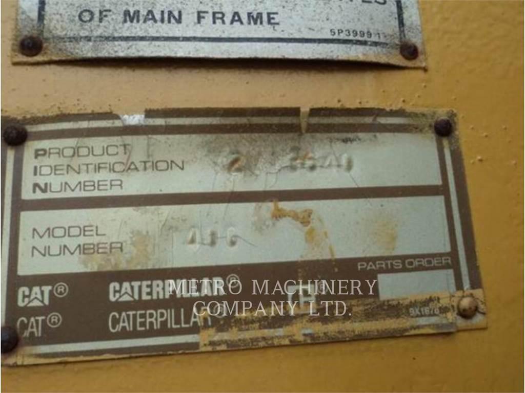 Caterpillar 140G、鉱業用モータ・グレーダ、建設