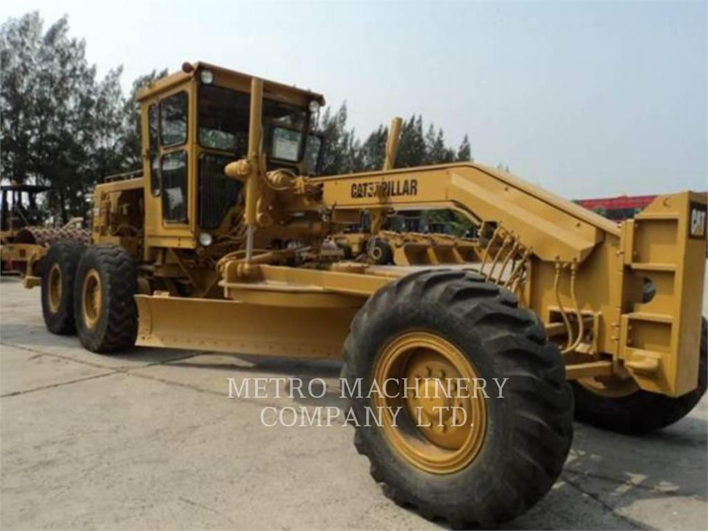 Caterpillar 140G, motoniveladora de mineração, Equipamentos Construção