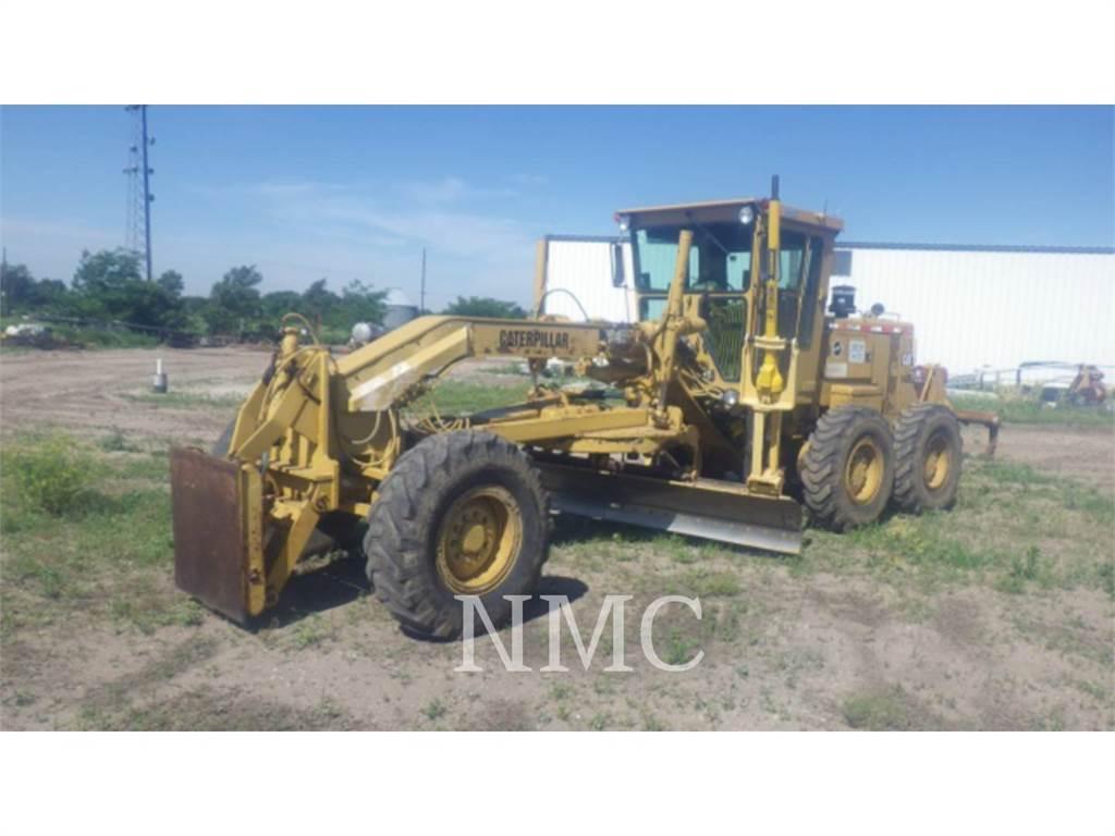 Caterpillar 140G, autogreder minier, Constructii